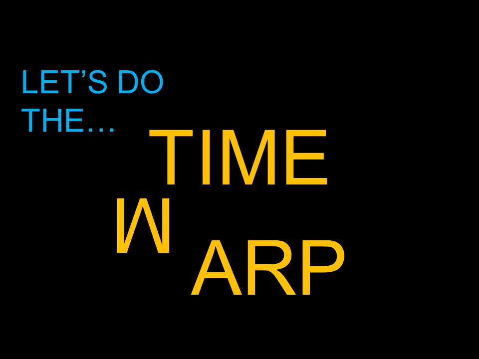 TIME ARP M LET'S DO THE…
