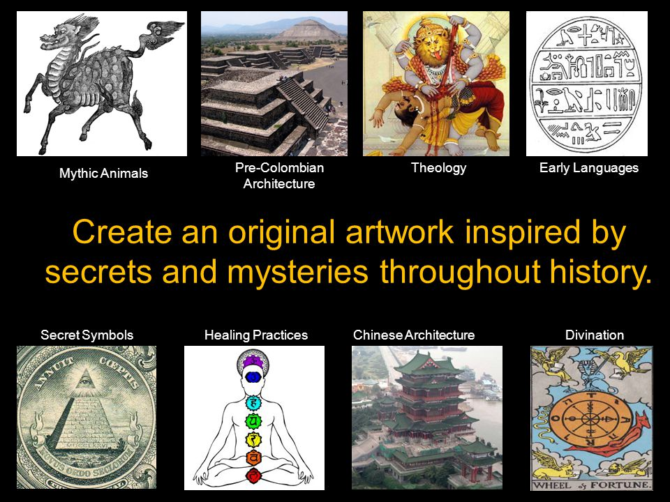 Example 3: Use your cultural history to make a work that honors your ancestors.