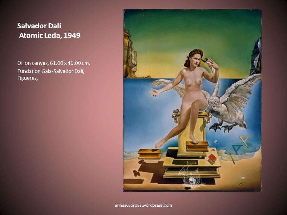 Salvador Dalí Atomic Leda, 1949 Oil on canvas, 61.00 x 46.00 cm.
