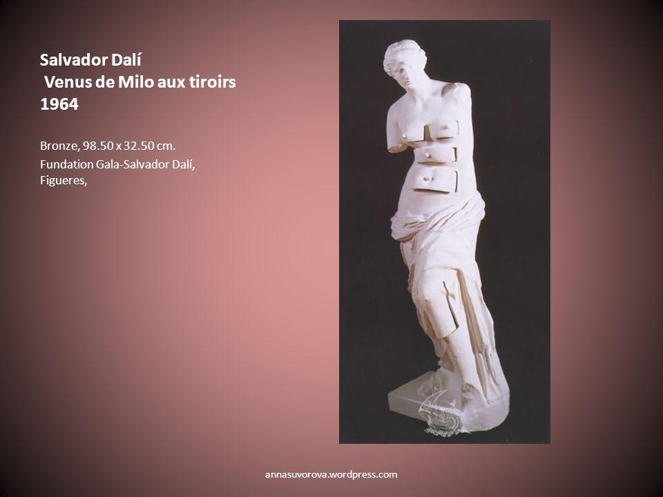 Salvador Dalí Venus de Milo aux tiroirs 1964 Bronze, 98.50 x 32.50 cm.