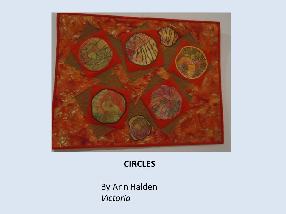 CIRCLES By Ann Halden Victoria