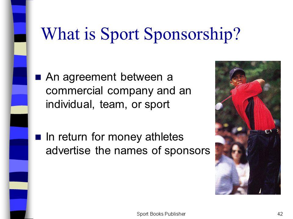 Sport Books Publisher42 What is Sport Sponsorship.