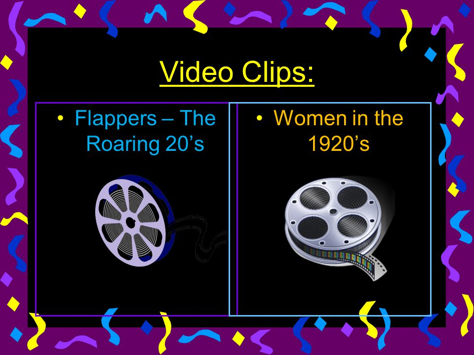 Video Clips: Flappers – The Roaring 20's Women in the 1920's