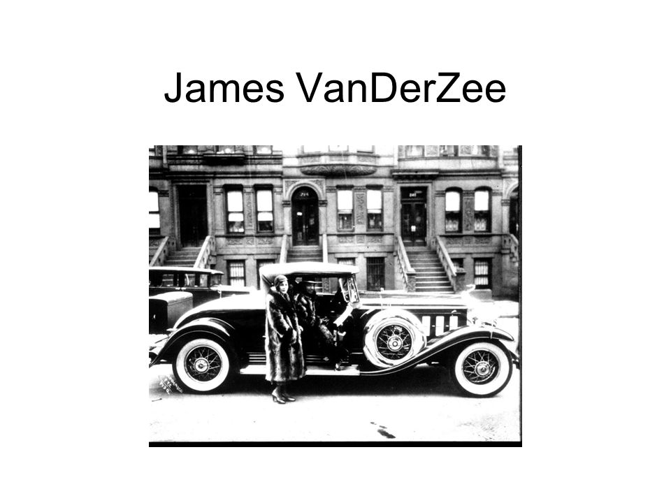 James VanDerZee