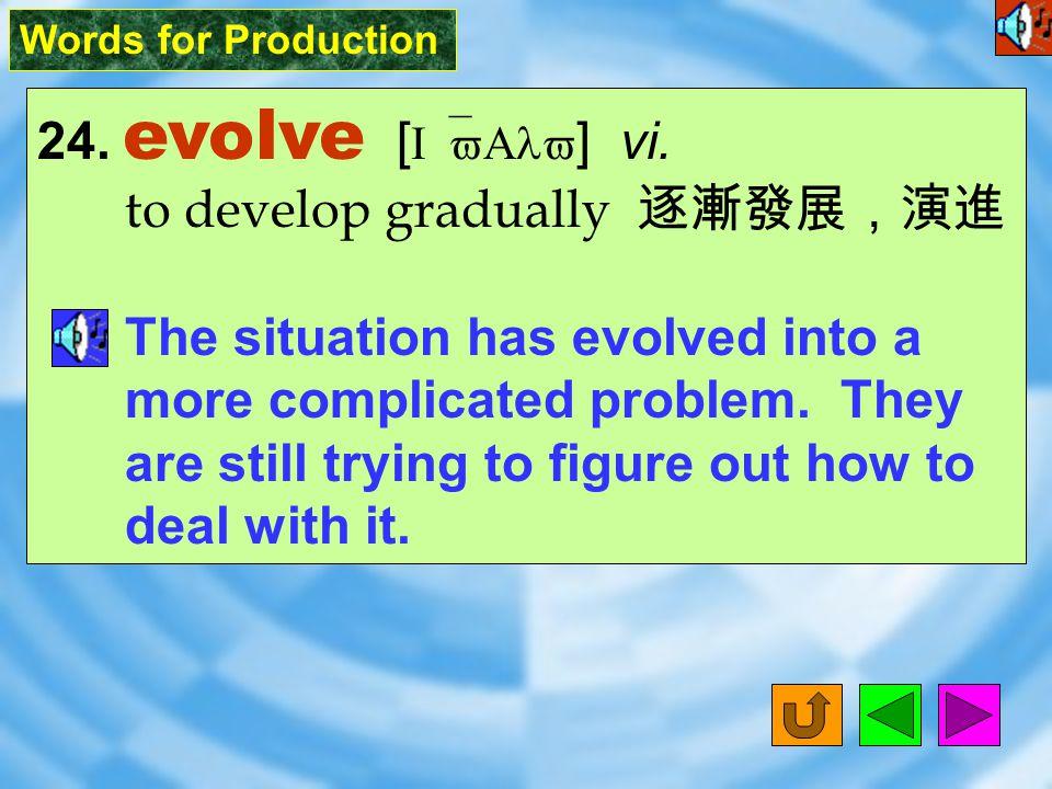 Words for Production 23. spectator [ `spEktet2; spEk`tet2 ] n.