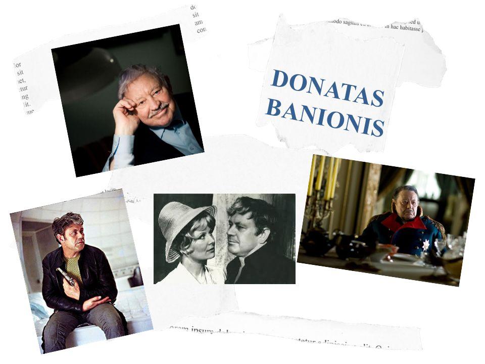 DONATAS BANIONIS