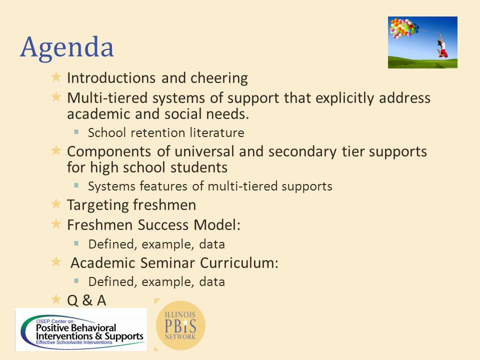 Freshmen Success Systems  Leadership  Expectations  Communication  Data  Consequence Acknowledgement Discipline