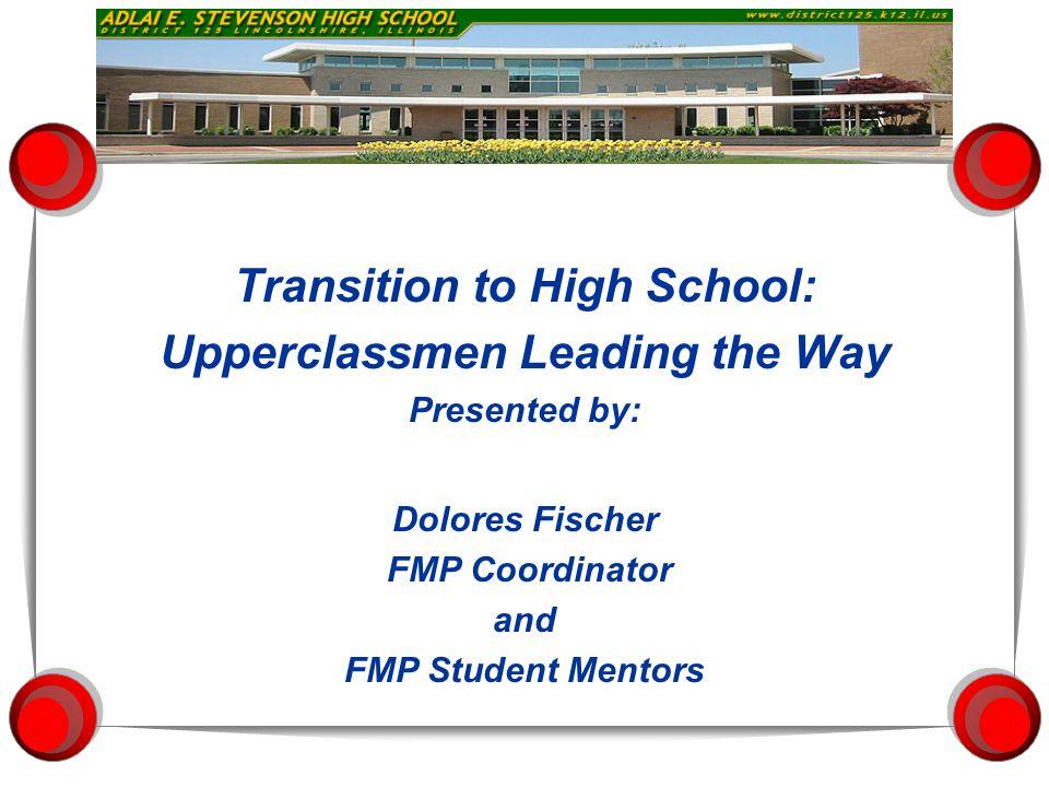 Freshman Mentor Program Mentoring - The Act of Giving
