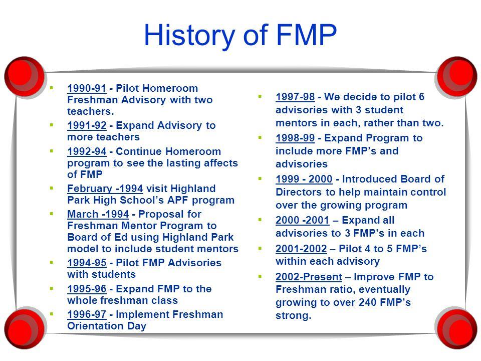 Spring Eighth Grade Transition Program  FMPs go to Jr.