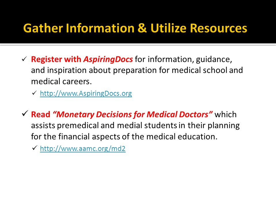The Medical School Admissions Requirements (MSAR) profiles every medical school in the US and Canada.