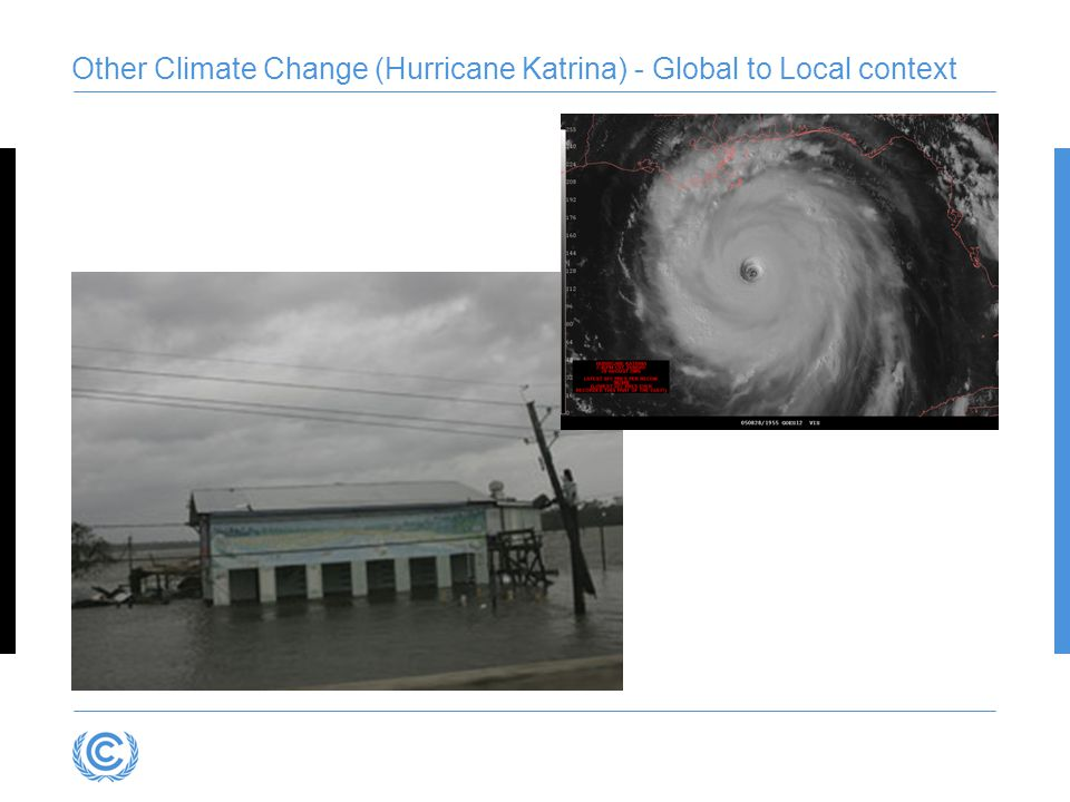 Other Climate Change (Hurricane Katrina) - Global to Local context