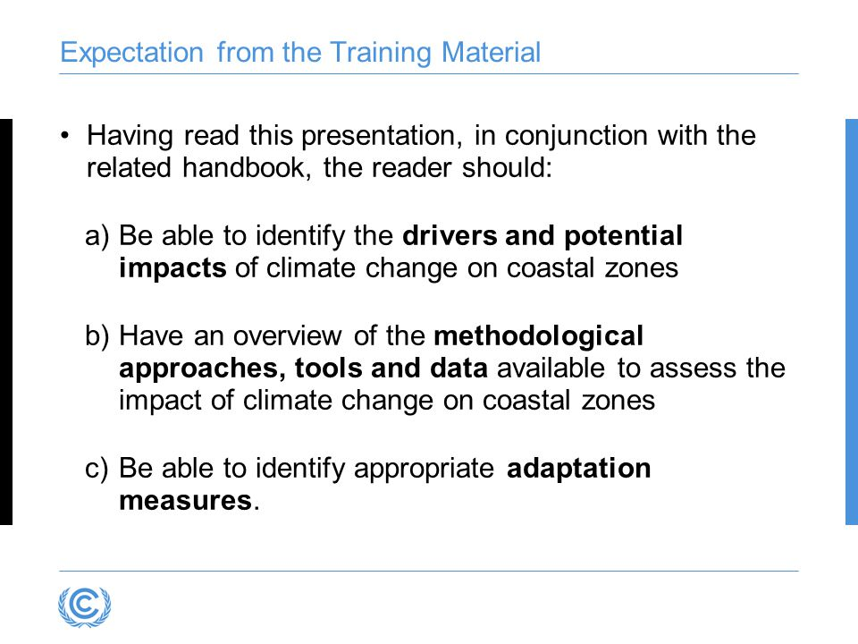 Adaptation Options Related to Goals (Source: USEPA, 2008)