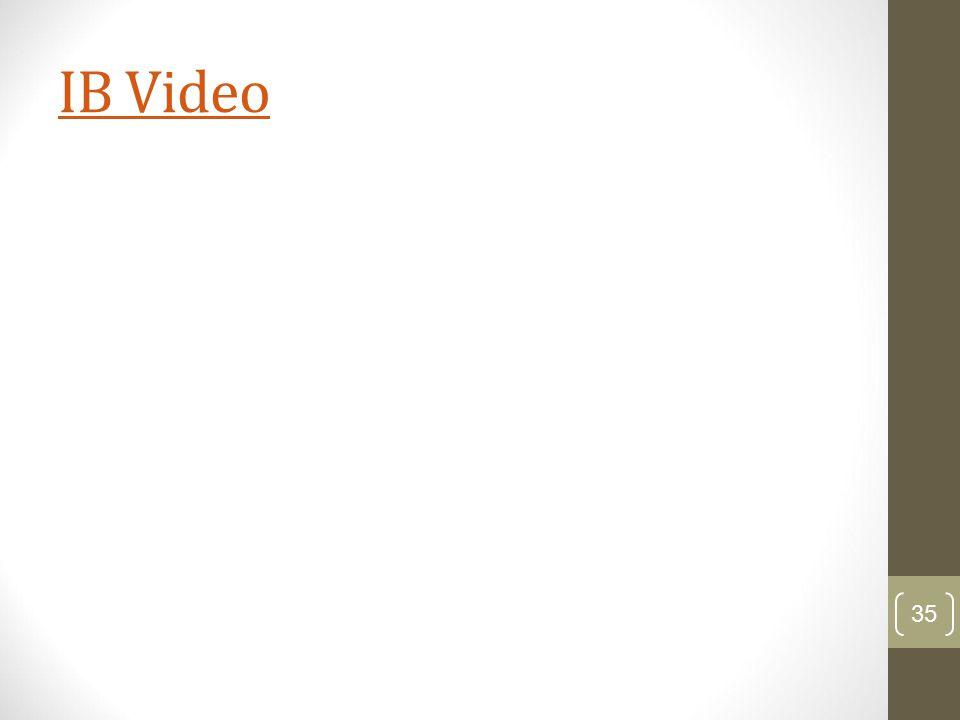 IB Video 35