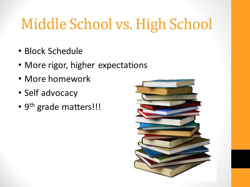 Middle School vs.
