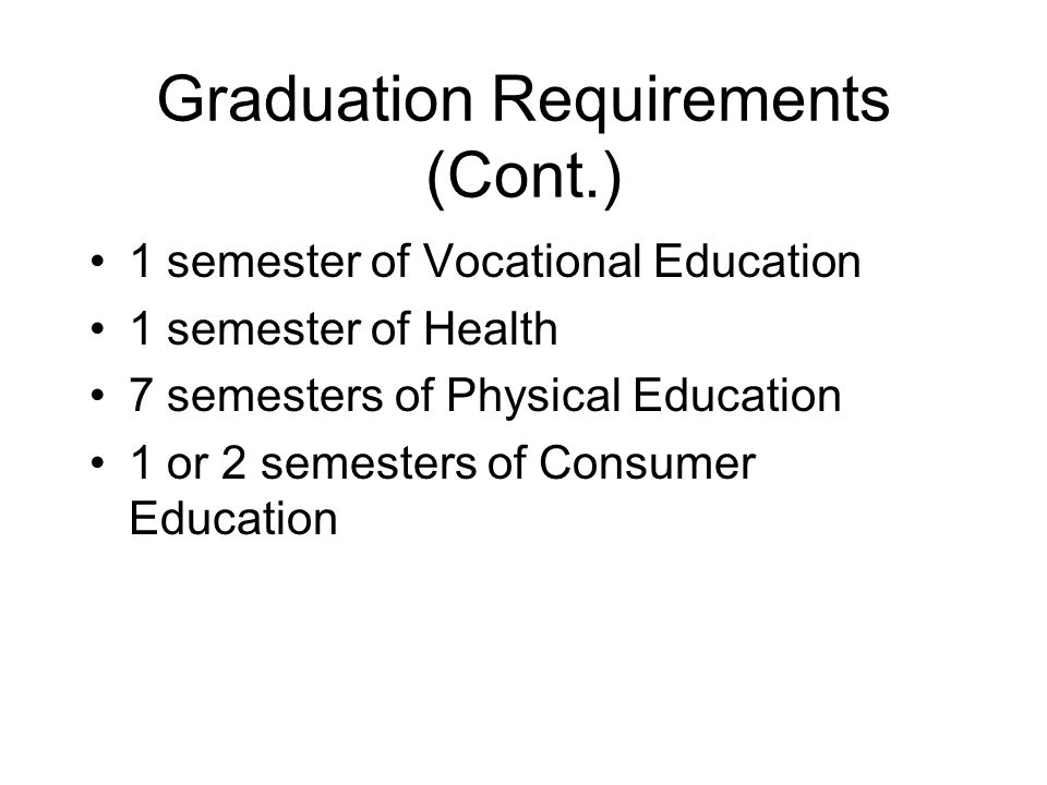 Questions Prepare for the future - what classes do you want to take while in high school.