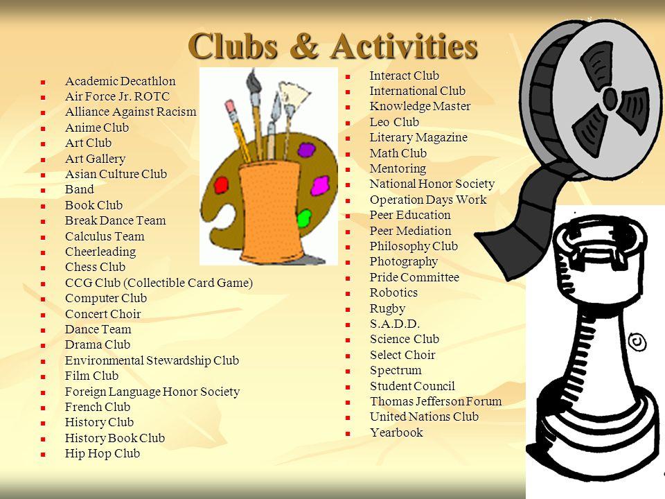 Clubs & Activities Academic Decathlon Academic Decathlon Air Force Jr.