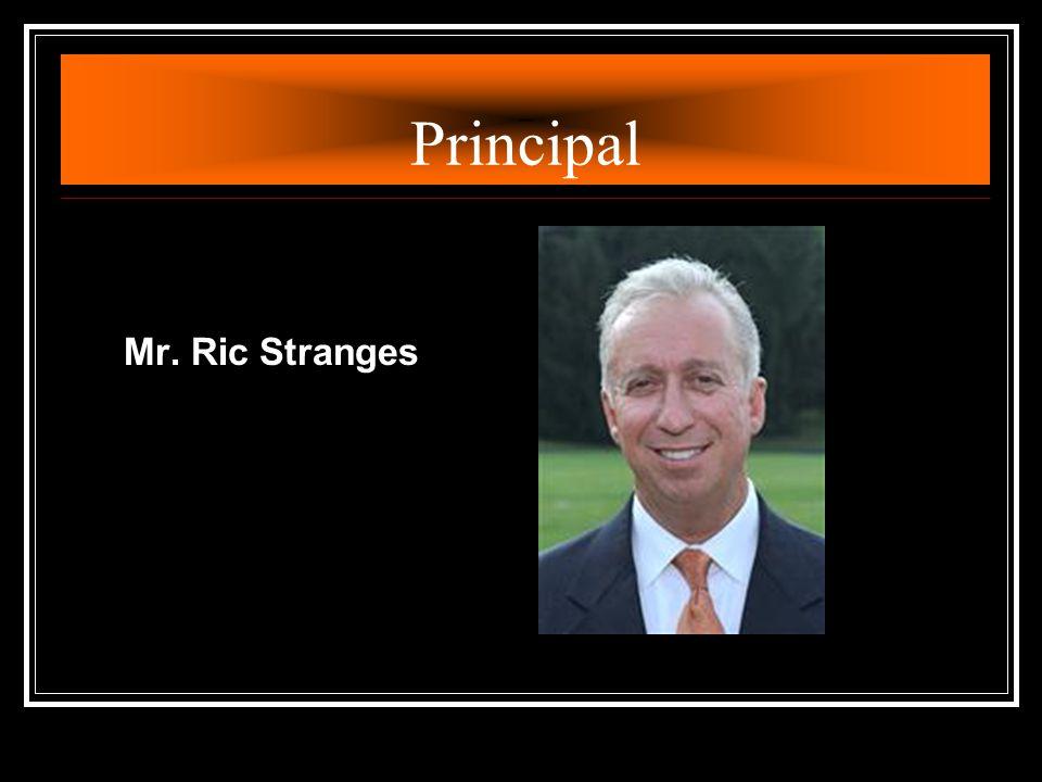 Principal Mr. Ric Stranges