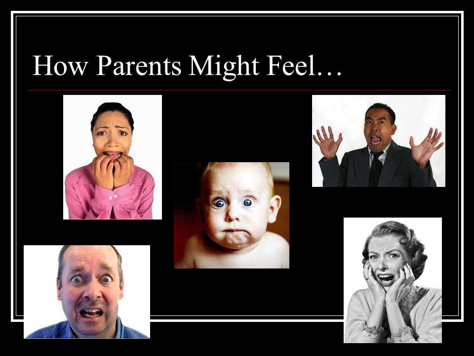 How Parents Might Feel…