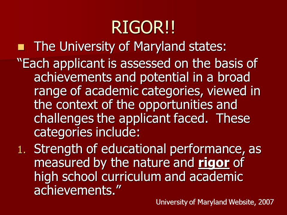 RIGOR!.