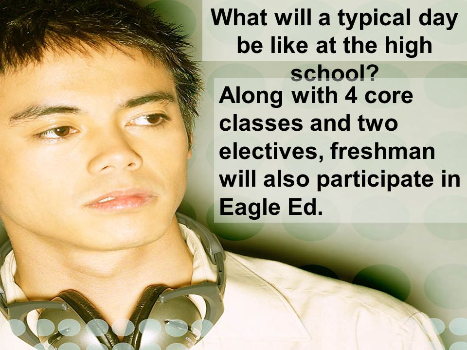 Why include Eagle Ed as part of the Freshman Academy structure.