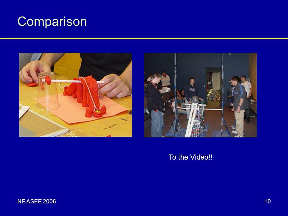 NE ASEE 200610 Comparison To the Video!!