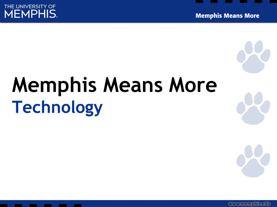 Memphis Means More Technology