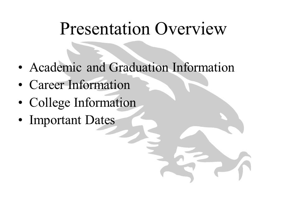 Tips for Students Presenting Themselves in the Application Carefully complete the application: –Tell us everything they want us to know –Major(s) of interest, if decided –Family background –Participation in activities –Use transcript(s) – don't guess about grades –Avoid abbreviations/acronyms All of these tips provide context and clarity