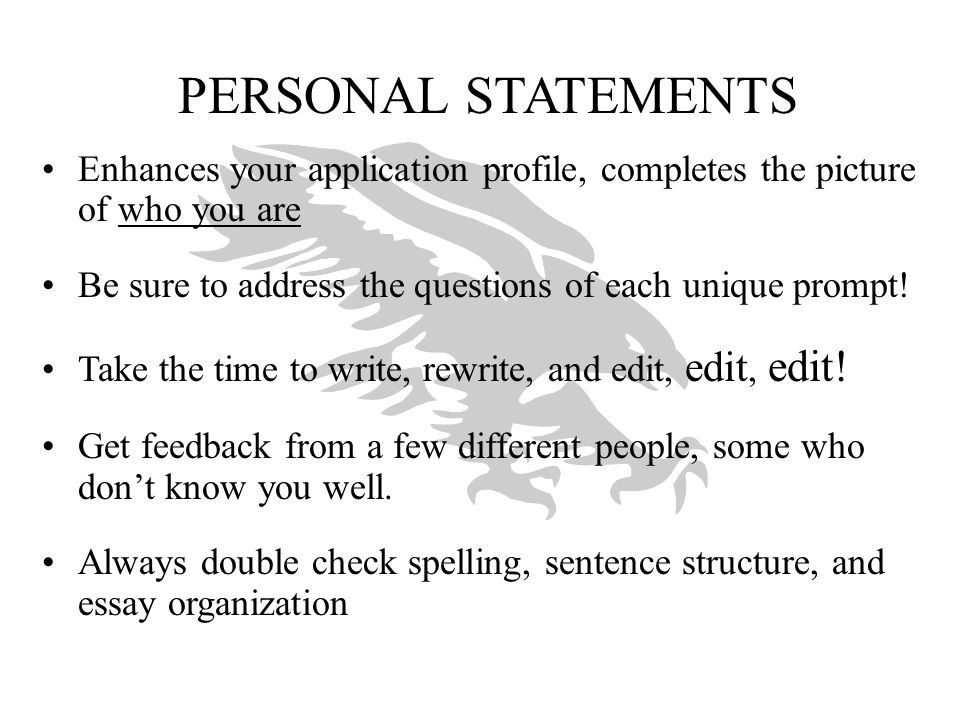 of uc personal statement essay Personal insight questions the personal insight questions are about getting to know you better — your life experience, interests, ambitions and inspirations.