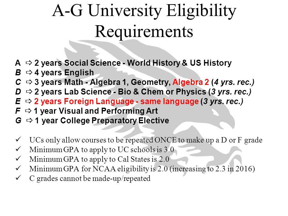 UC Campus Data 2014 Campus# Admitted: # ApplicantsAdmit Rate Avg GPA Avg SAT/ACT Berkeley8,705: 44,57520%4.182071/31 Davis17,836: 46, 81938%4.071924/28 Irvine18,365: 52,28535%4.051867/27 Los Angeles9,352: 55,96417%4.172067/30 Merced9,506: 14,15967%3.611638/24 Riverside18,055: 31,13758%3.771739/25 San Diego15,820: 52,12730%4.132018/30 Santa Barbara18,995: 51,04737%4.031925/29 Santa Cruz18,561: 34,58454%3.821782/26
