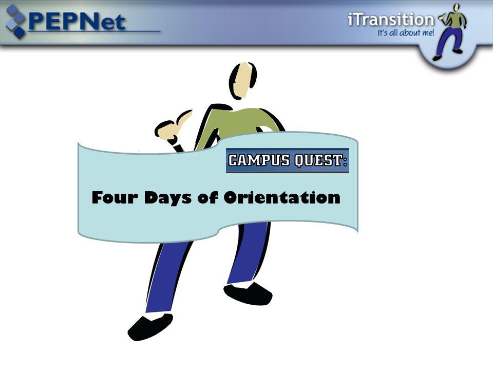 Four Days of Orientation