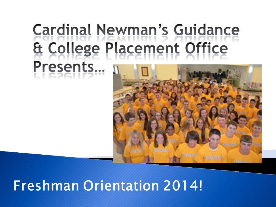 Freshman Orientation 2014!