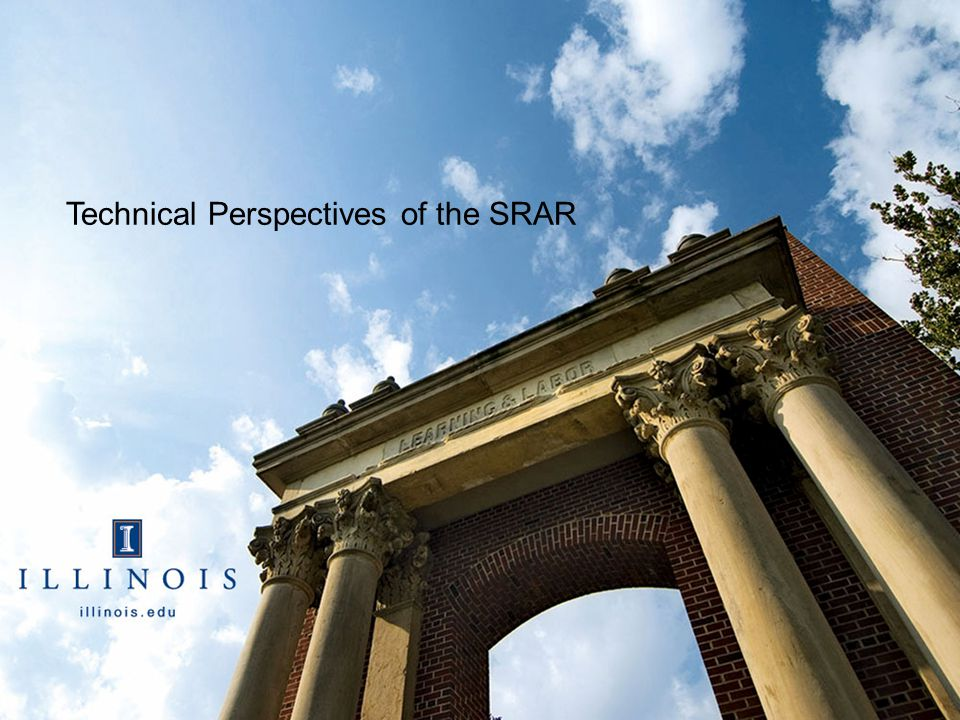 Technical Perspectives of the SRAR
