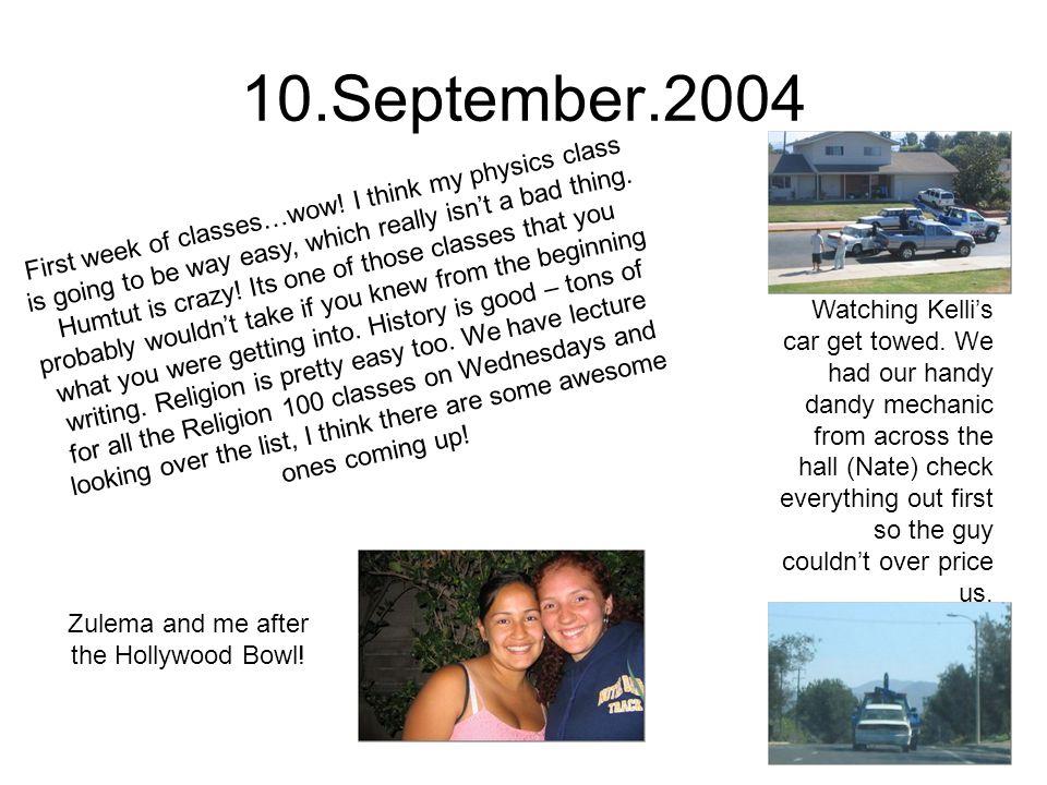 17.September.2004 Last weekend J, Steph, Johanna and I went to a Dodger game!.