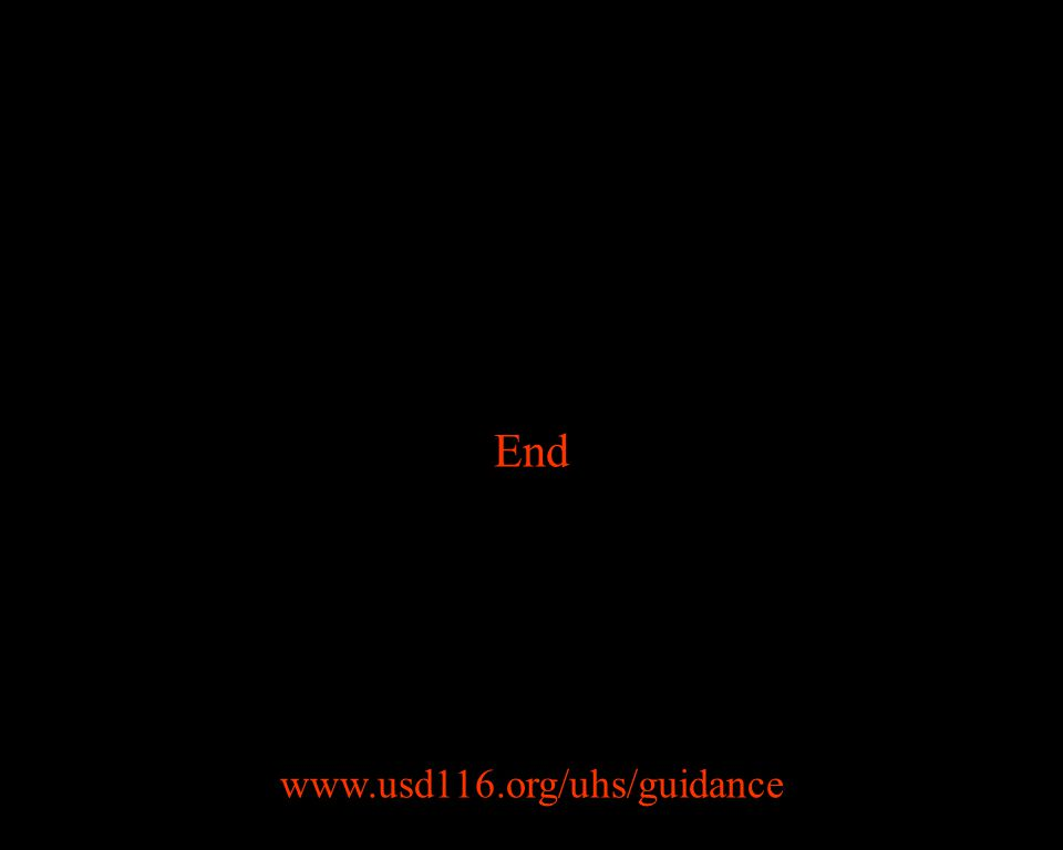 End www.usd116.org/uhs/guidance