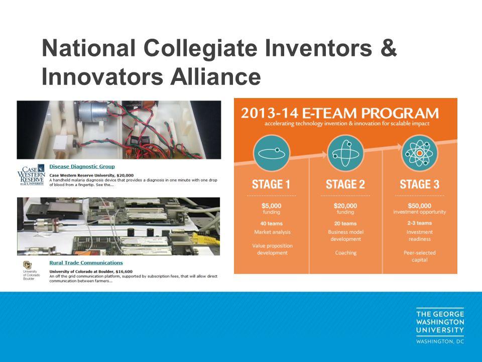 National Collegiate Inventors & Innovators Alliance
