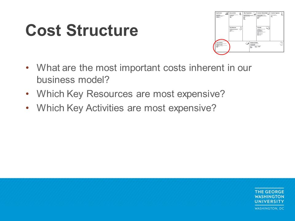 What are the most important costs inherent in our business model.