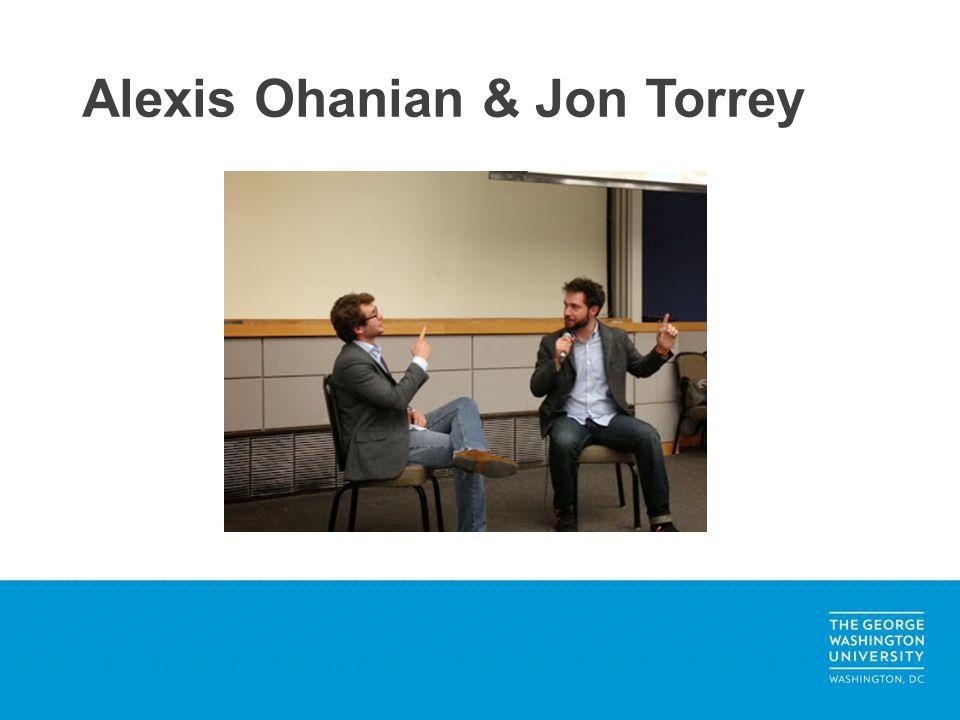 Alexis Ohanian & Jon Torrey