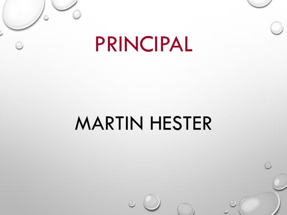 PRINCIPAL MARTIN HESTER