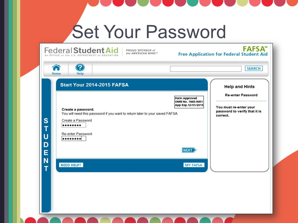 Set Your Password