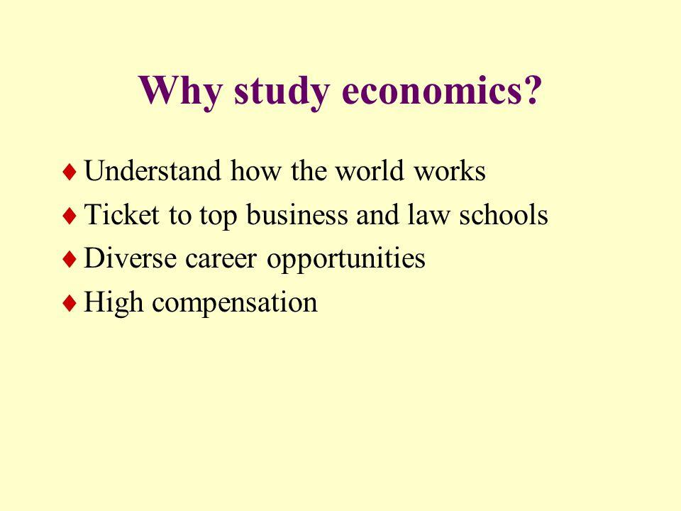 Economics: Skills and Knowledge