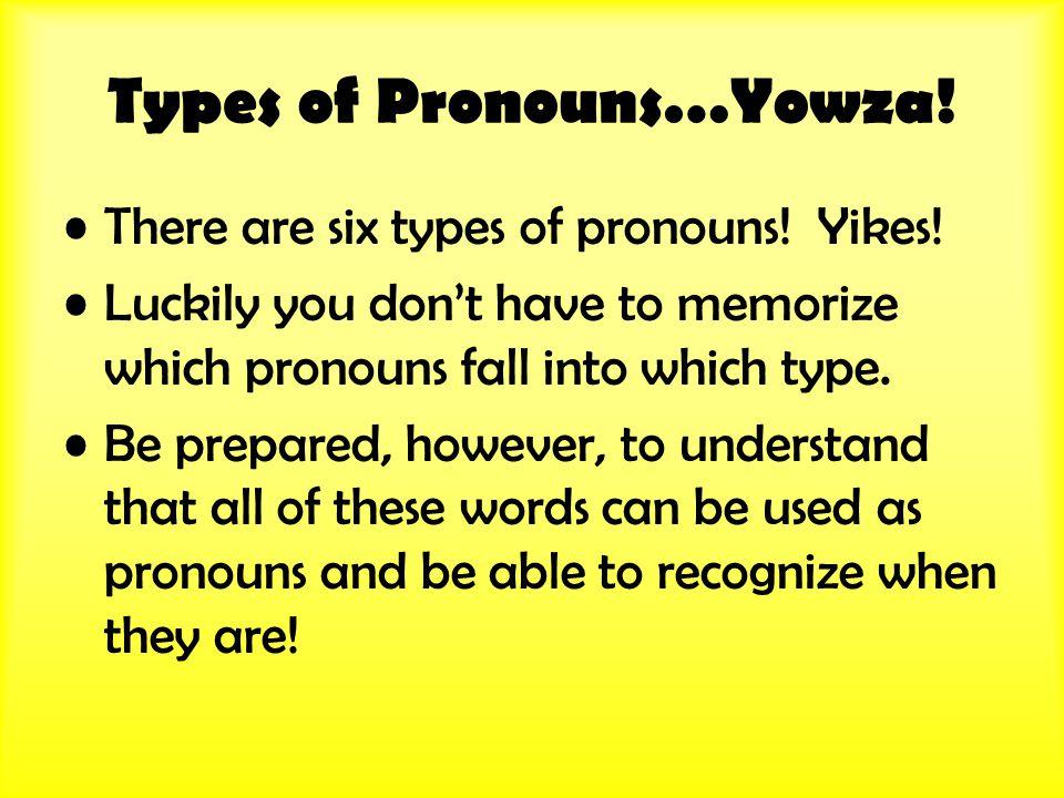 Indefinite Pronoun Trick.