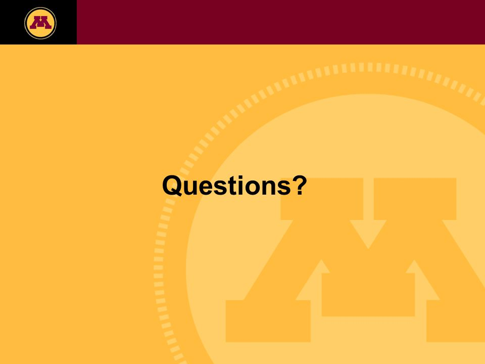Twin Cities Campus Freshman Applicants, 2002-2006 Questions