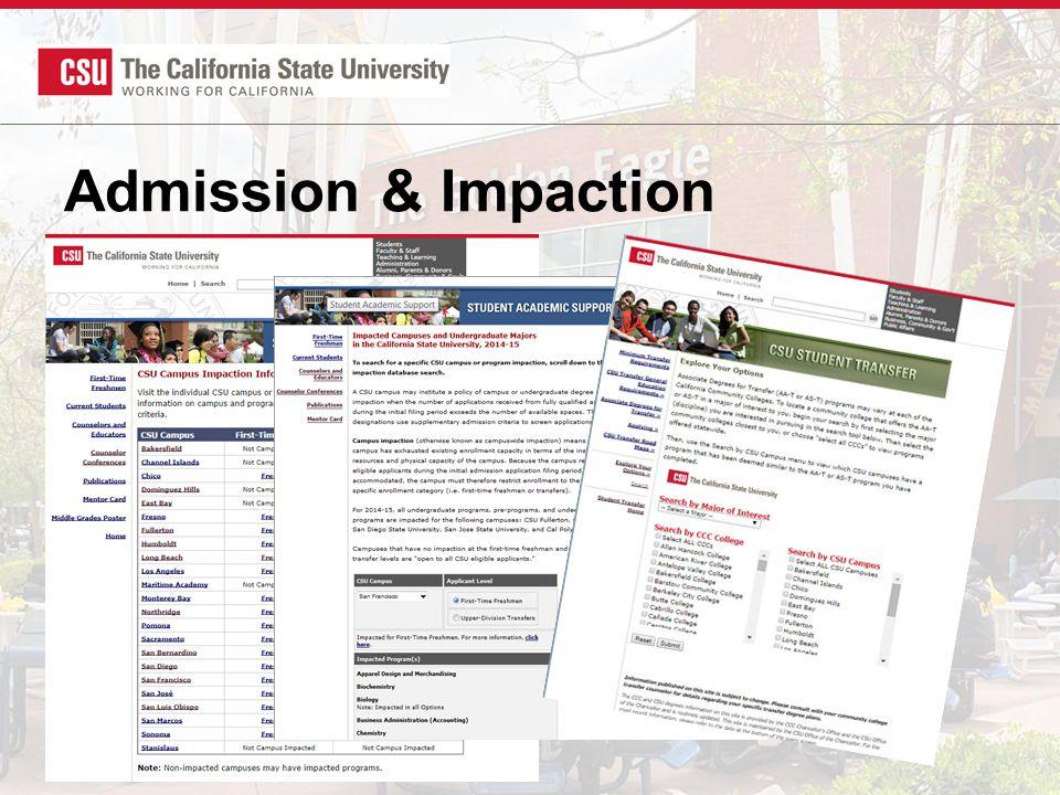 Admission & Impaction