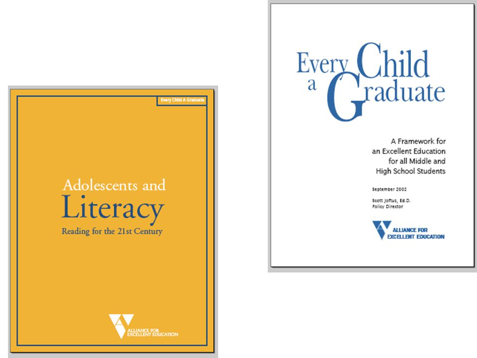 Read the Carnegie Documents: http://www.carnegie.org/literacy/why.html http://www.carnegie.org/literacy/why.html