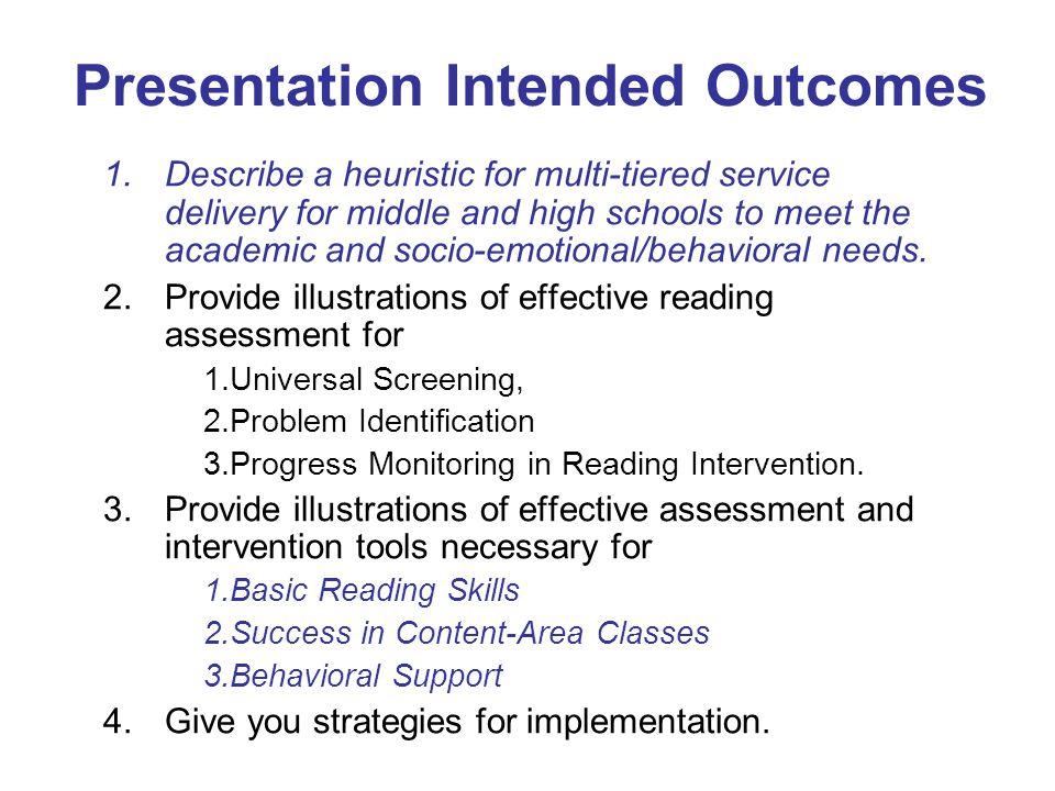 Case Study Severe Basic Skill Problem: Provide Intense Basic Skill Intervention!