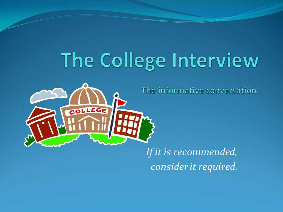 THE COLLEGE SEARCH PROCESS Junior College Planning Night TIMELINE December '12 September October November December '13 June February March January '13 April May July August Junior Lessons (3) Junior Meetings VISIT COLLEGES SAT/ACT APPLY STUDENTS CONSIDER Location/Distance Size Extra-curricular (i.e.