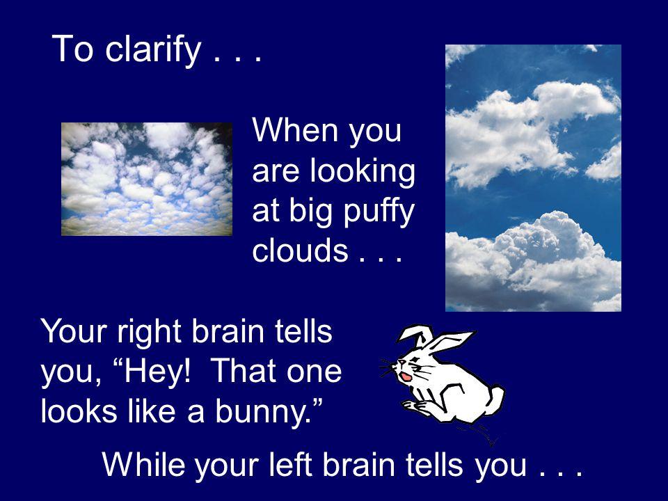 It's a cloud, Stupid!