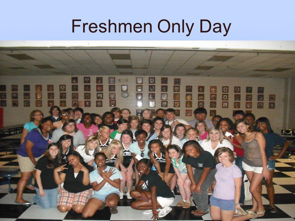 Freshmen Only Day