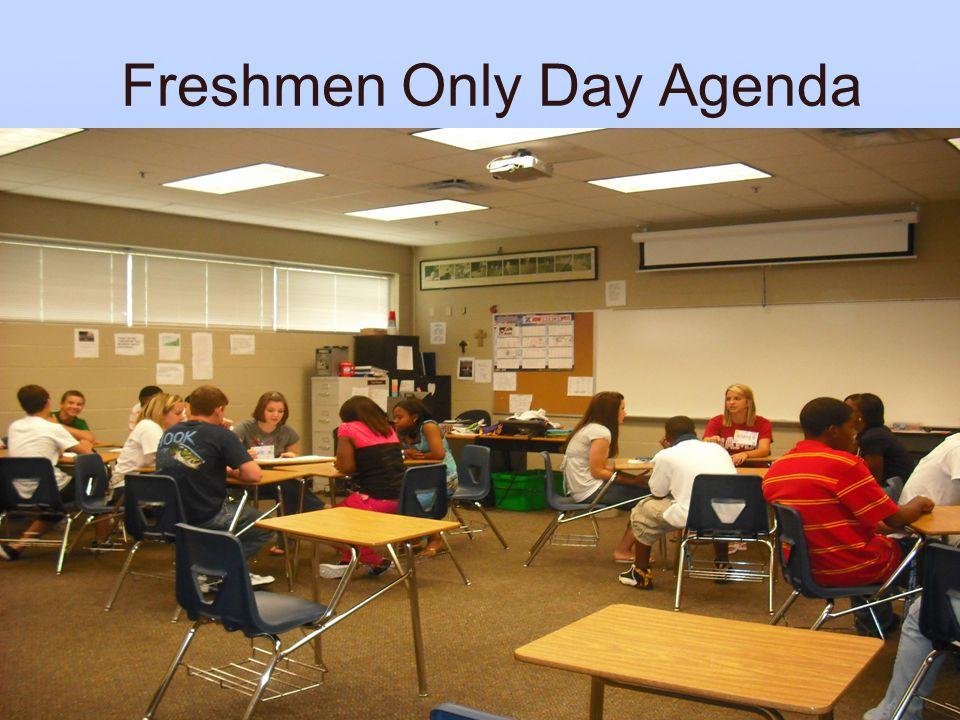 Freshmen Only Day Agenda