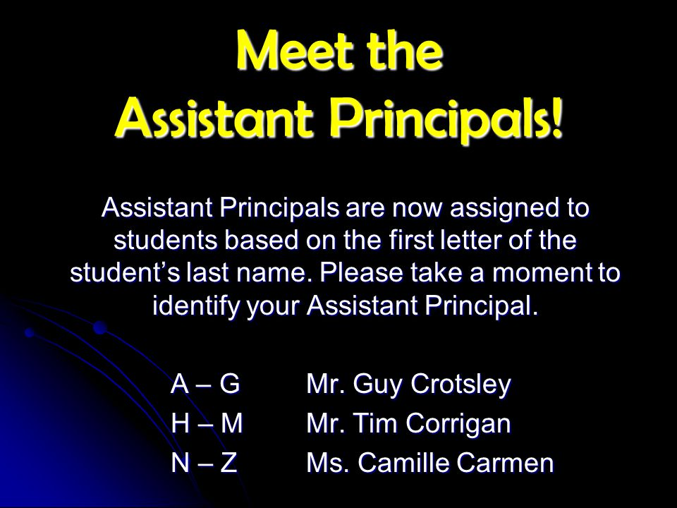 Meet the Counseling Staff!.
